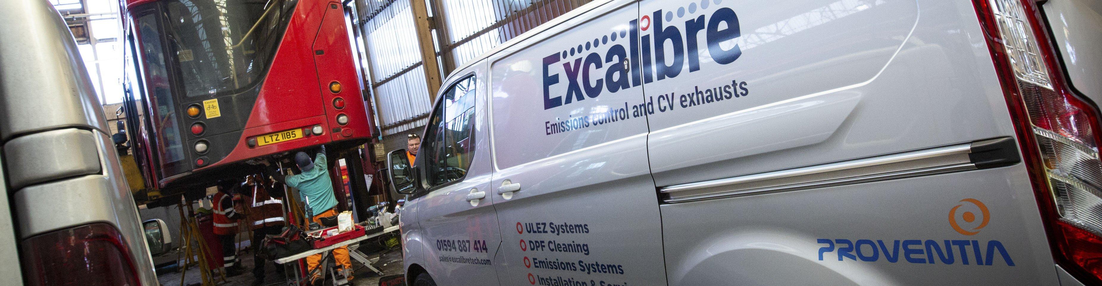 ULEZ compliant exhaust system