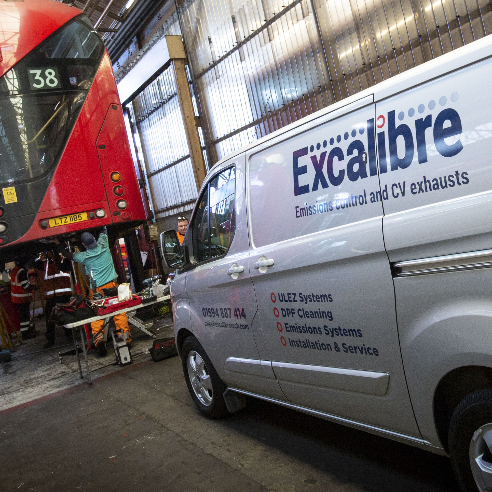 specialists in DPF Cleaning and Retrofit solutions