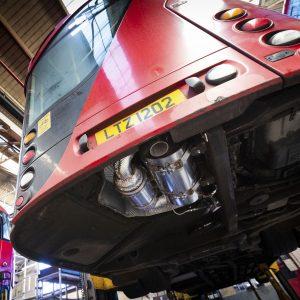 London bus climate control