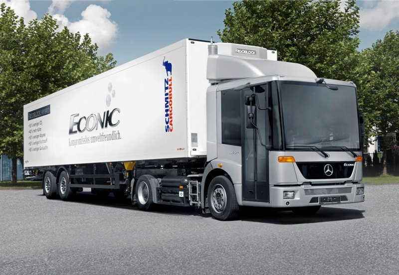 The Mercedes Econic - emissions control systems