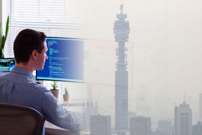home working causing air pollution