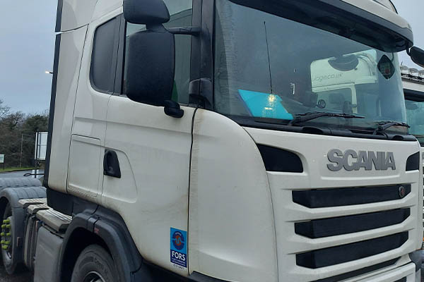 HGV DPF cleaning