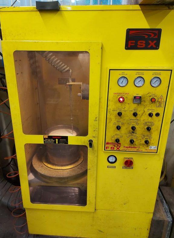 FSX DPF Cleaning machine